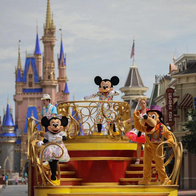 A performance at Disney World.