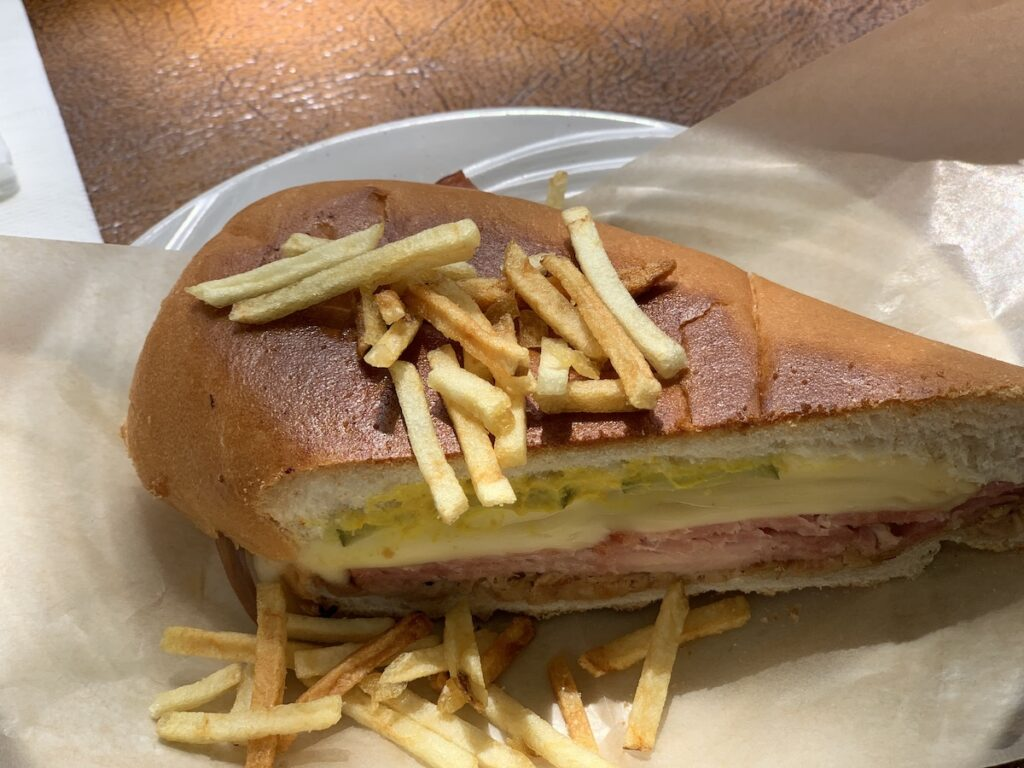 Old's Havana Cuban sandwich, Miami.