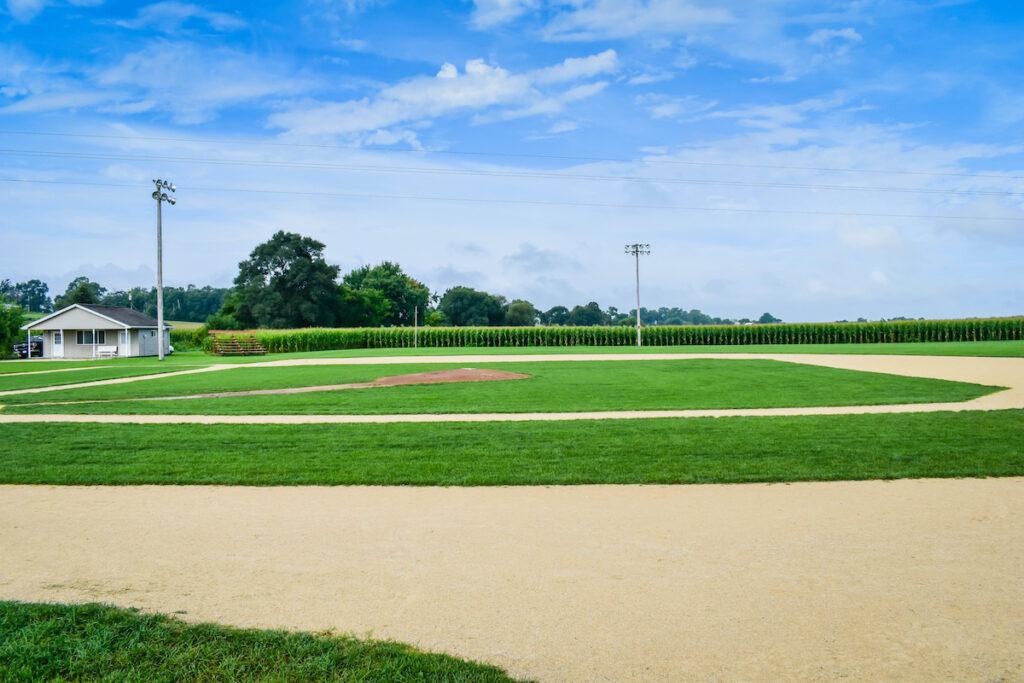 Field of Dreams in Dyersville, Iowa.