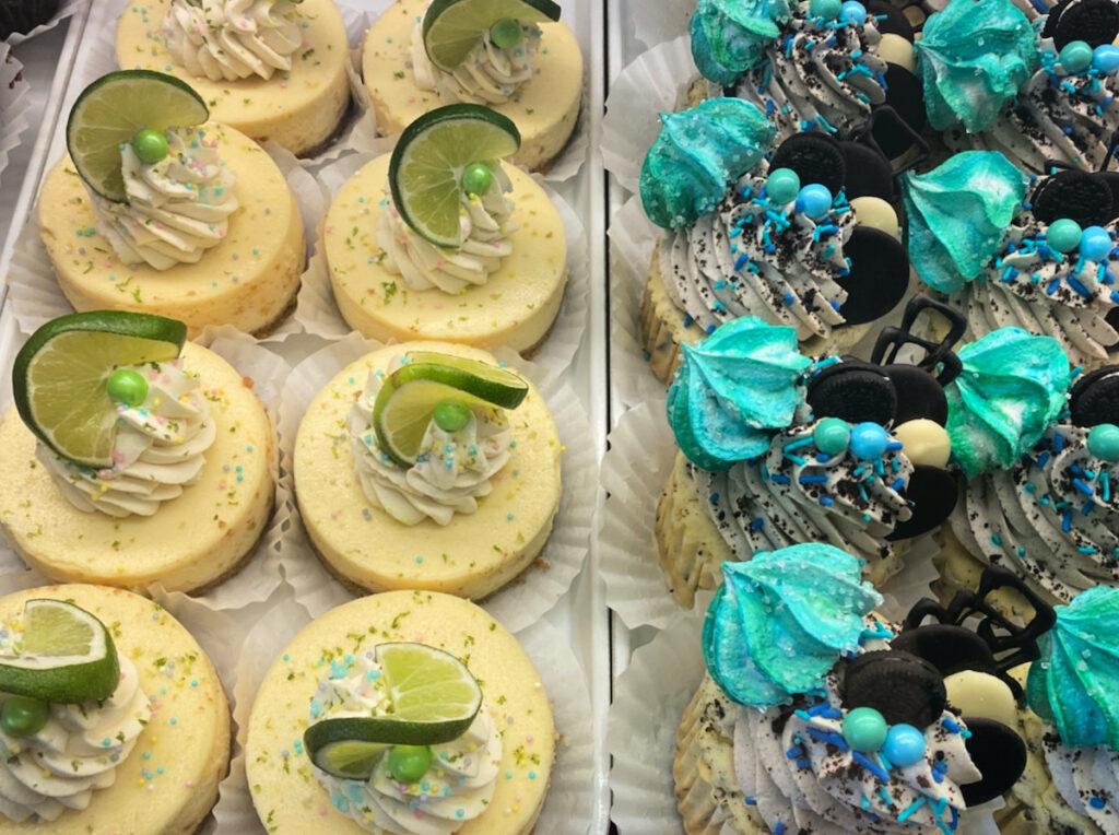 Cupcakes at Terra Cafe.