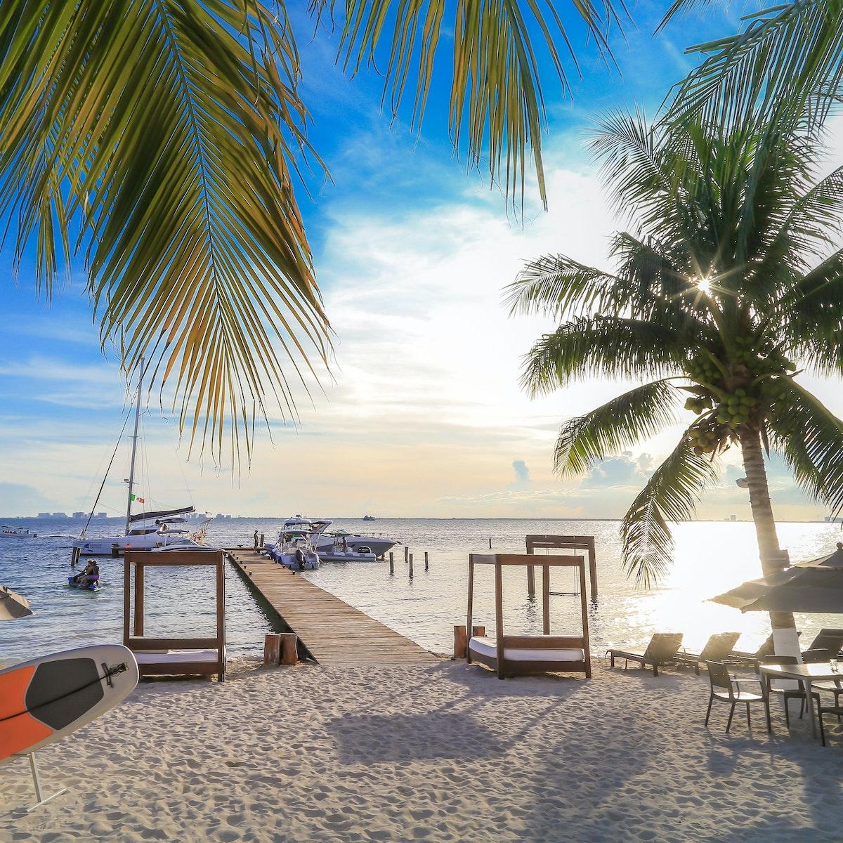Zama Beach Club, Isla Mujeres.