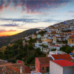 Ioulida on Kea, Greece.
