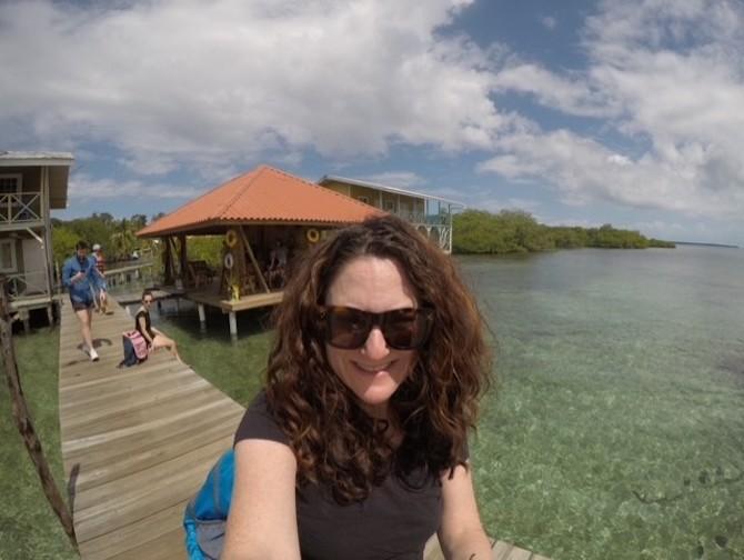 Enjoying Panama on a cloudy day.