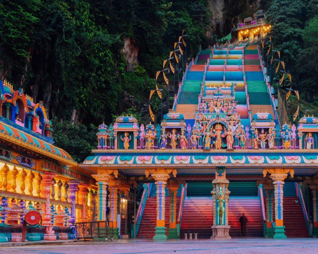 Batu Caves, Selangor, Malaysia.