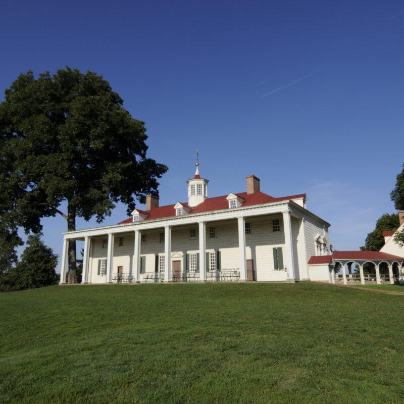 Mount Vernon, George Washington's home, Virginia.