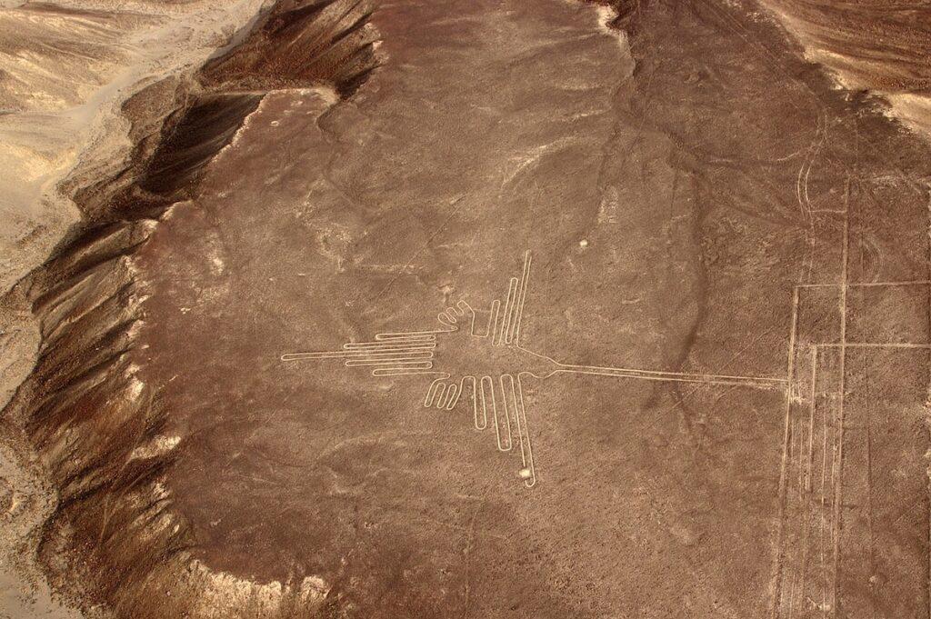 Nazca Lines in Peru.