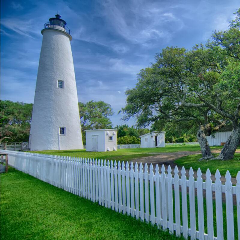 Ocracoke Lighthouse and Light Station.