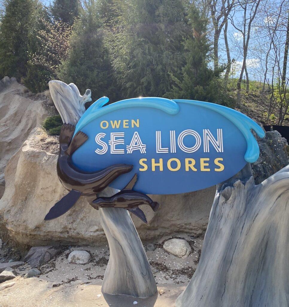Owen Sea Lion Shores, Omaha Zoo.