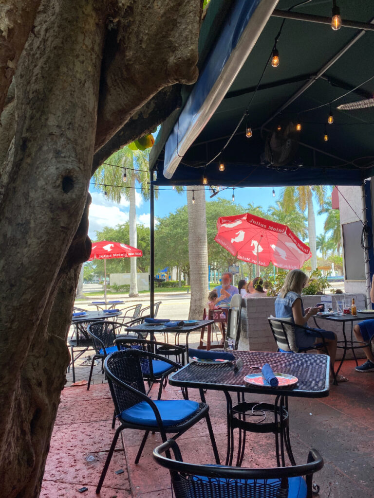 Over the Bridge Cafe in Florida.