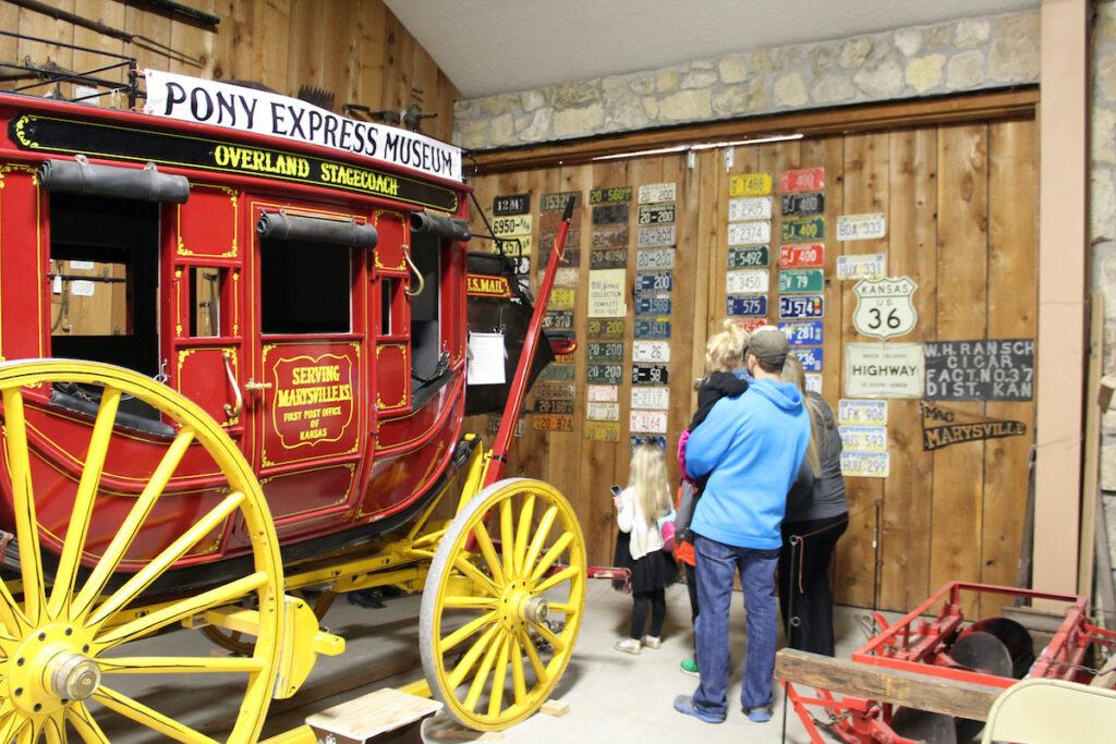 Pony Express Museum in Marysville, Kansas.