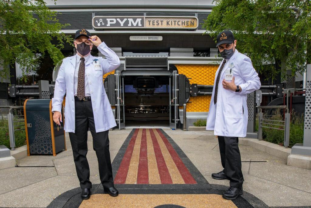 Pym Test Kitchen, Avengers Campus, Disneyland.