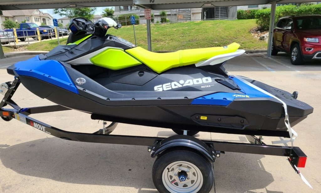 2021 Seadoo Spark Jet Ski Lake Travis boat rental GetMyBoat.com