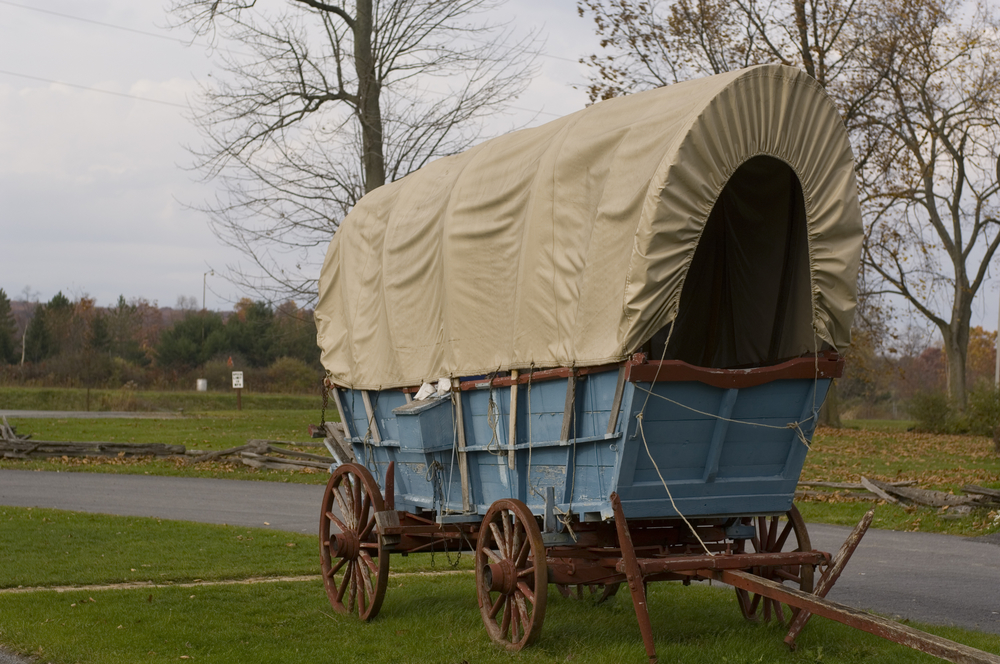 Covered Wagon - Old Bedford Village - Bedford, PA