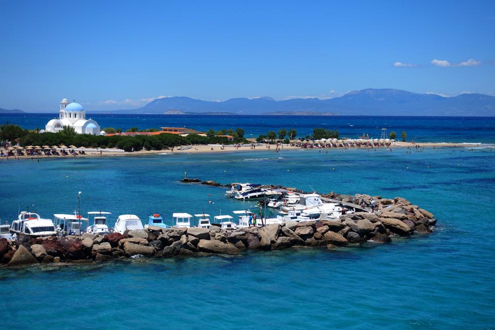 Agioi Anargiroi, Agistri island, Greece.