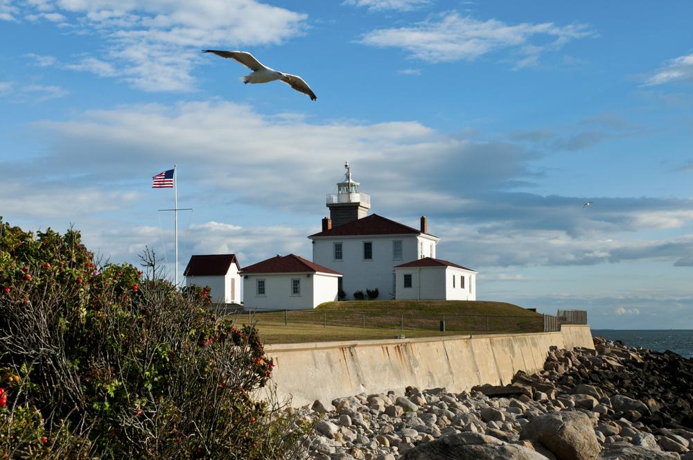 Watch Hill Light, Westerly, Rhode Island.