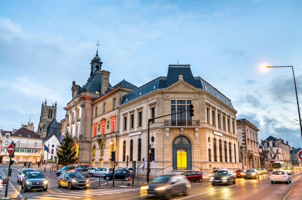 Meaux city hall, Seine-et-Marne department of France.