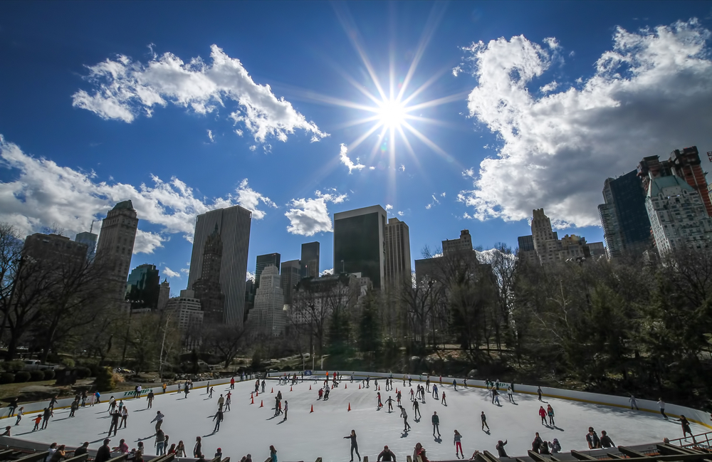 Wollman Ice Rink - Central Park, New York City, USA