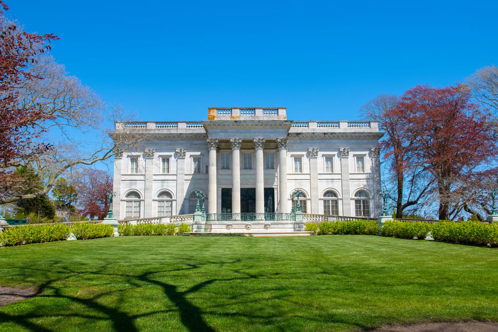 Marble House in Newport, Rhode Island.