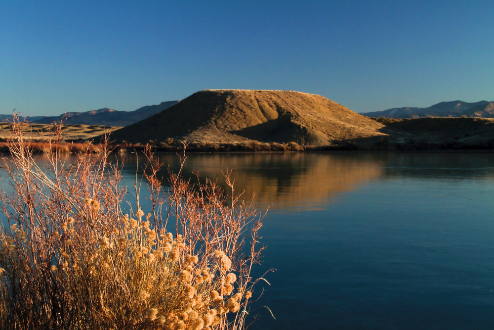 Mack Mesa and Highline lakes are stocked with cold-water rainbow trout in the spring and fall.