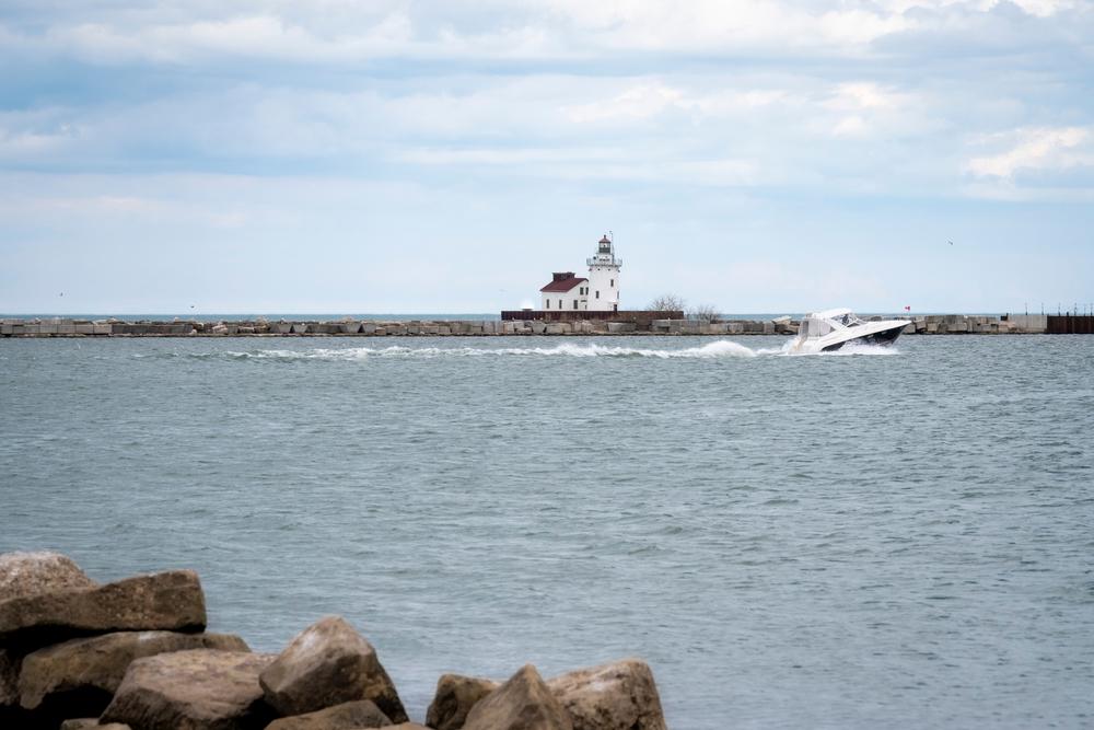 Cleveland Harbor West Pierhead Lighthouse.