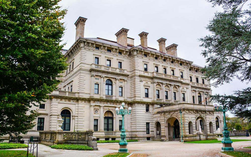The Breakers, a Vanderbilt Mansion.