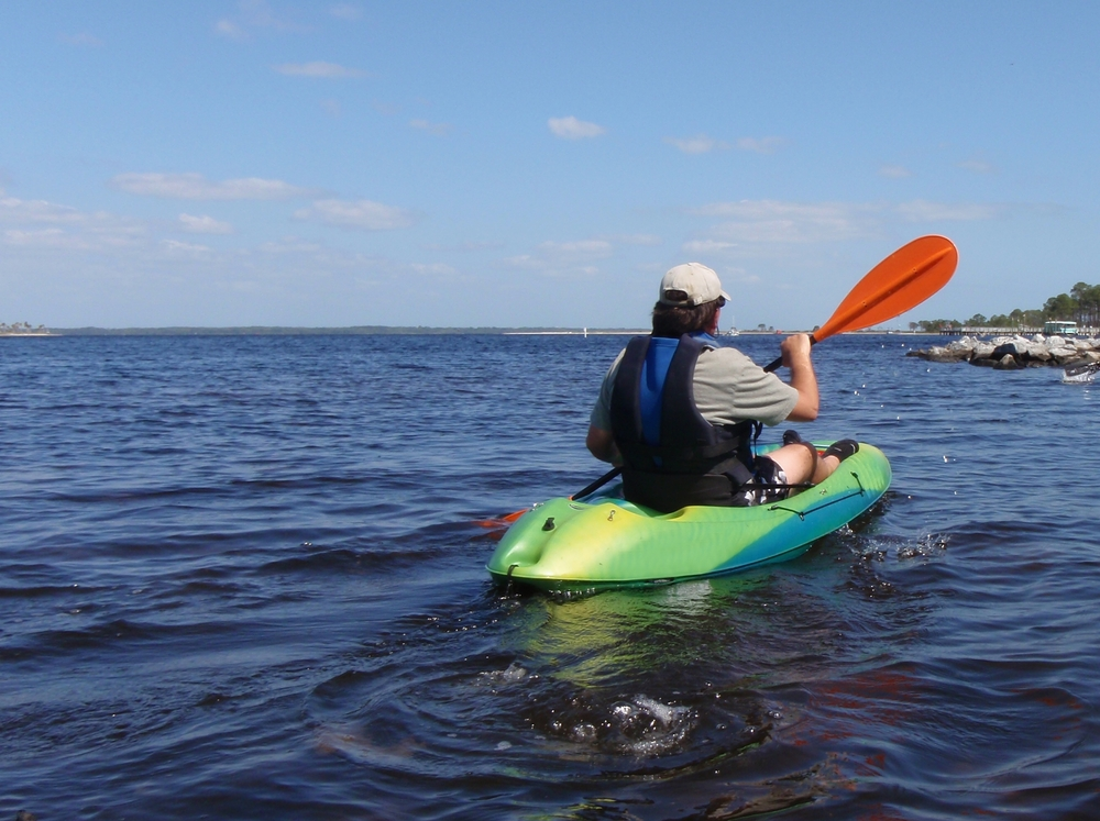 Kayaking Male Saint Andrews State Park, Panama City, Florida