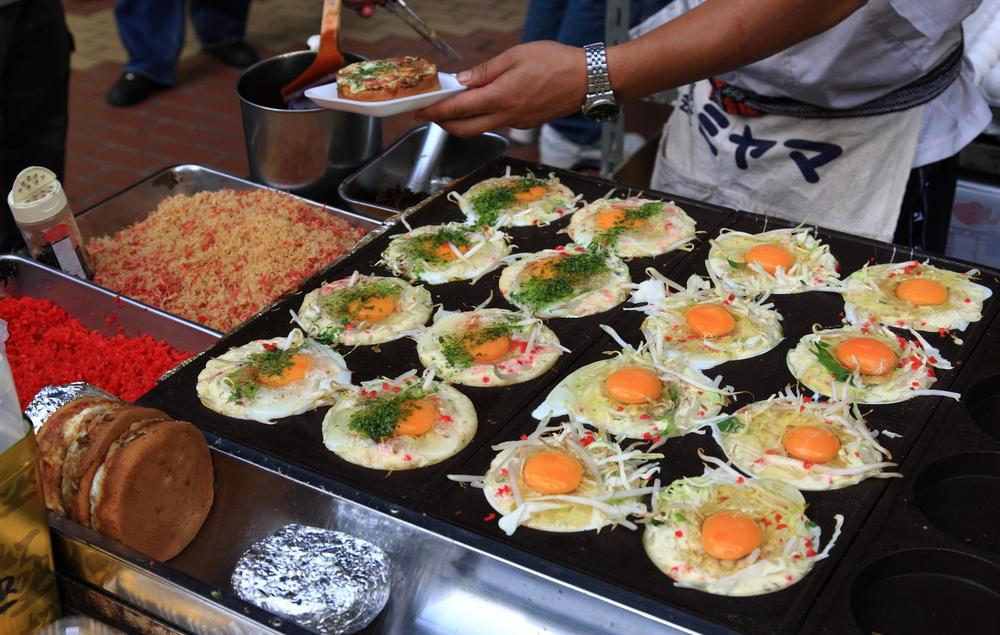 Street food in Tokyo.