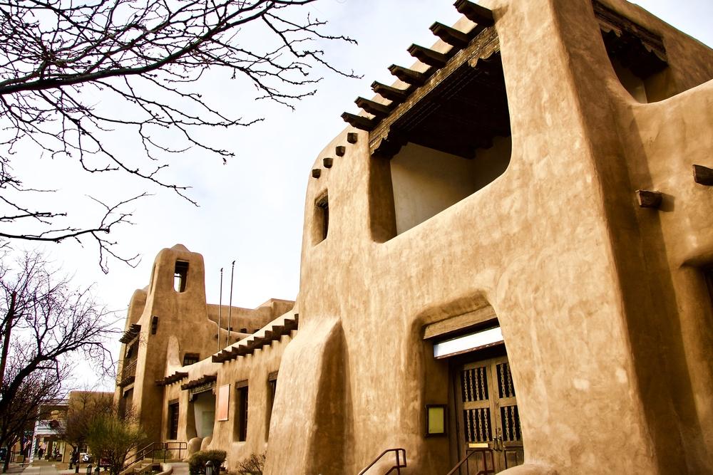 New Mexico Museum of Art, Santa Fe, New Mexico USA