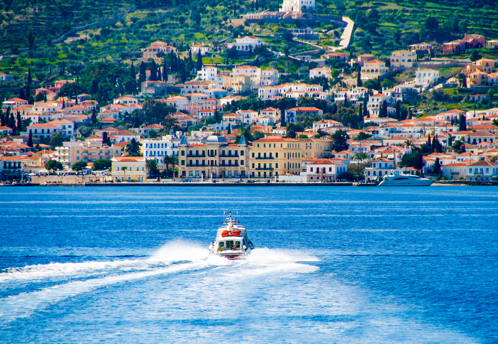 Going to Spetses island, Greece.