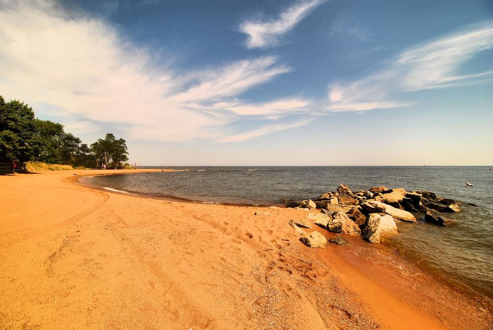 Sandy Point State Park near Annapolis, Maryland.