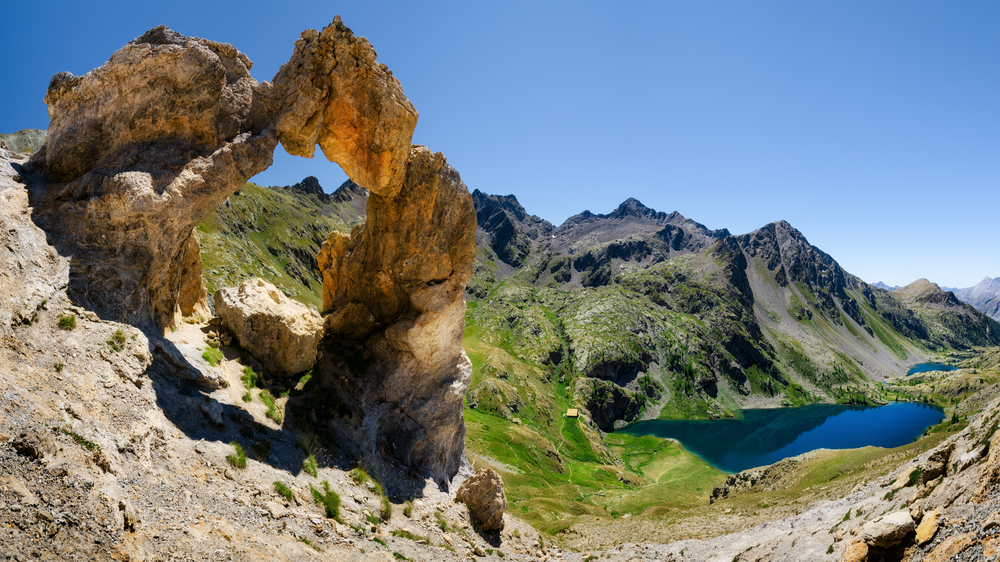 The Arc de Tortisse in Mercantour National Park.