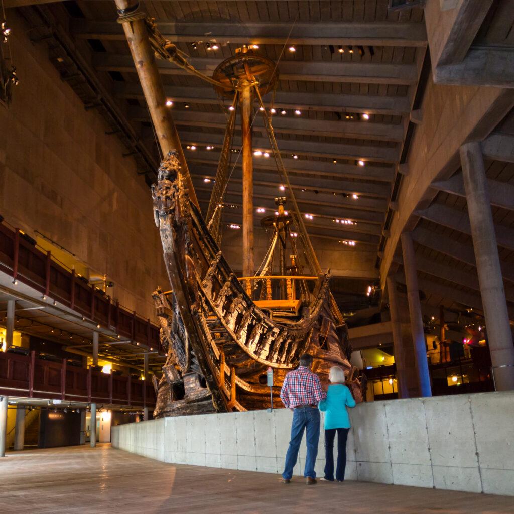 The Vasa Museum in Stockholm, Sweeden.