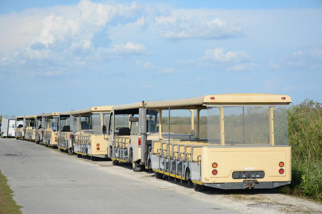 Shark Valley Tram.