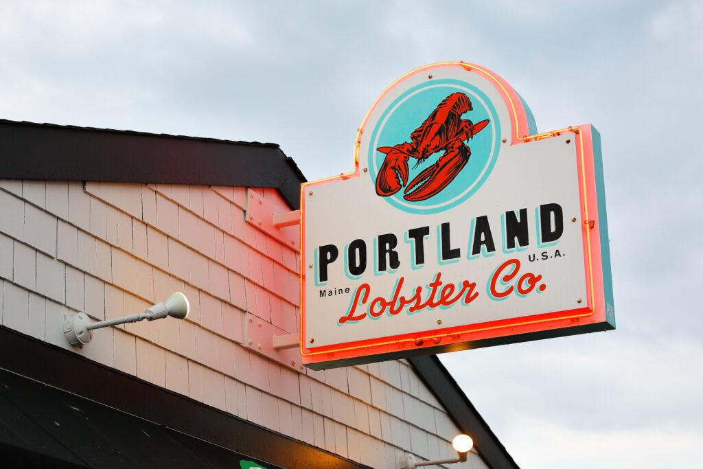 Portland Lobster Company in Portland, Maine.