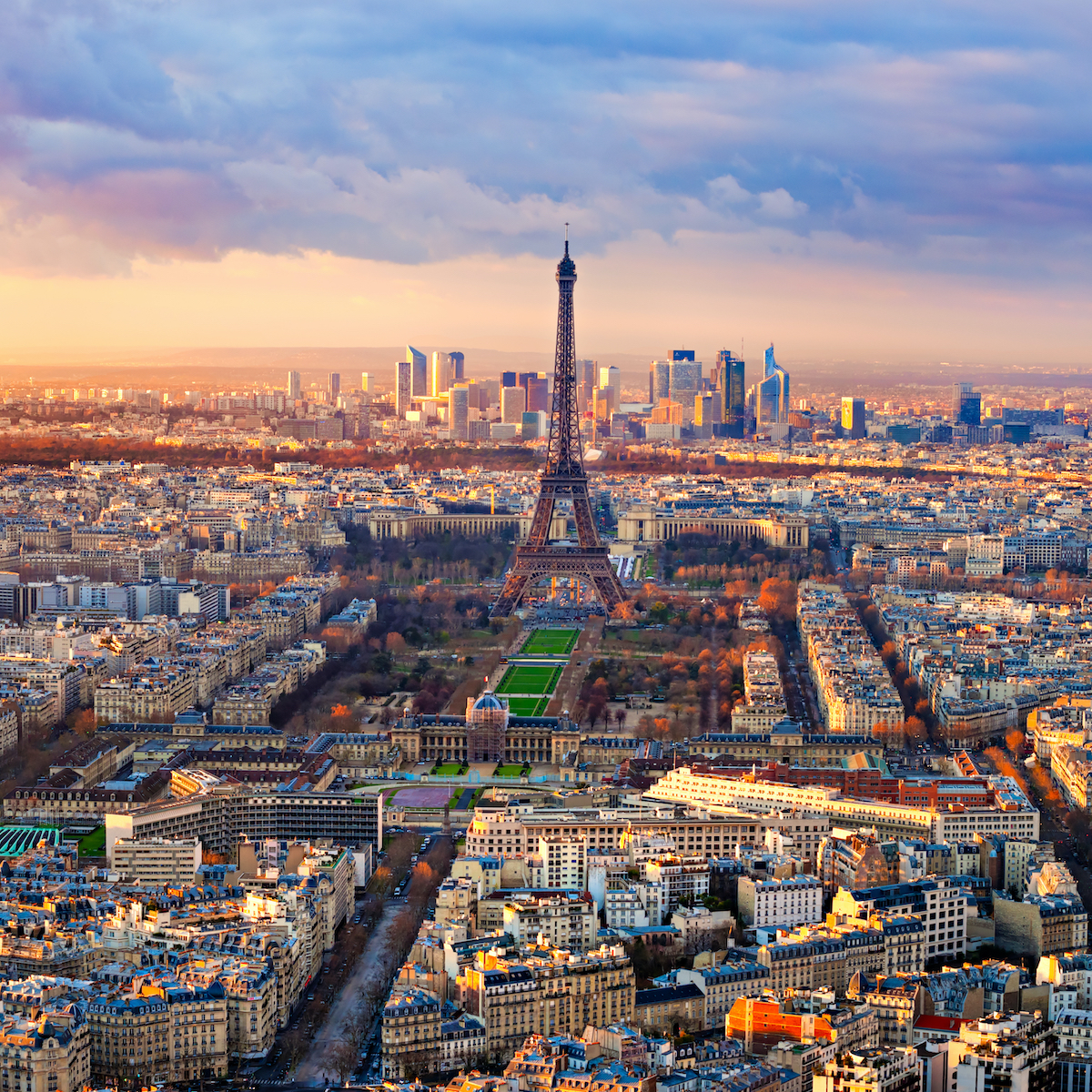 Paris from up above.