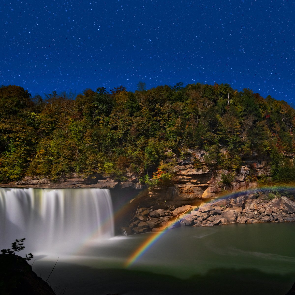 Moonbow in Kentucky.