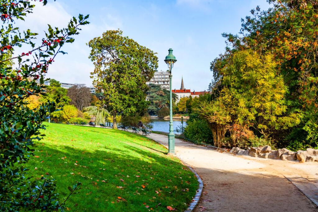 Parc Montsouris in Paris.