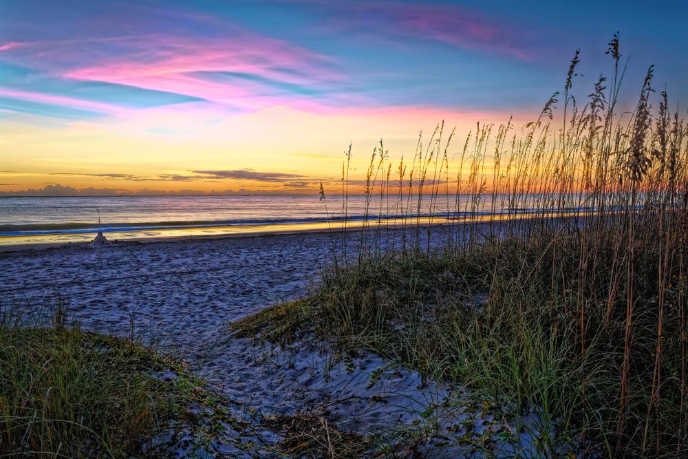 Sunrise on Hilton Head Island South Carolina.