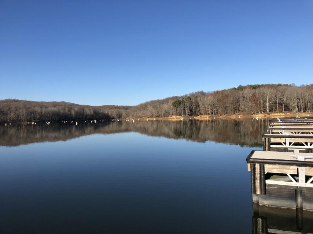 Monroe Lake Bloomington Indiana.