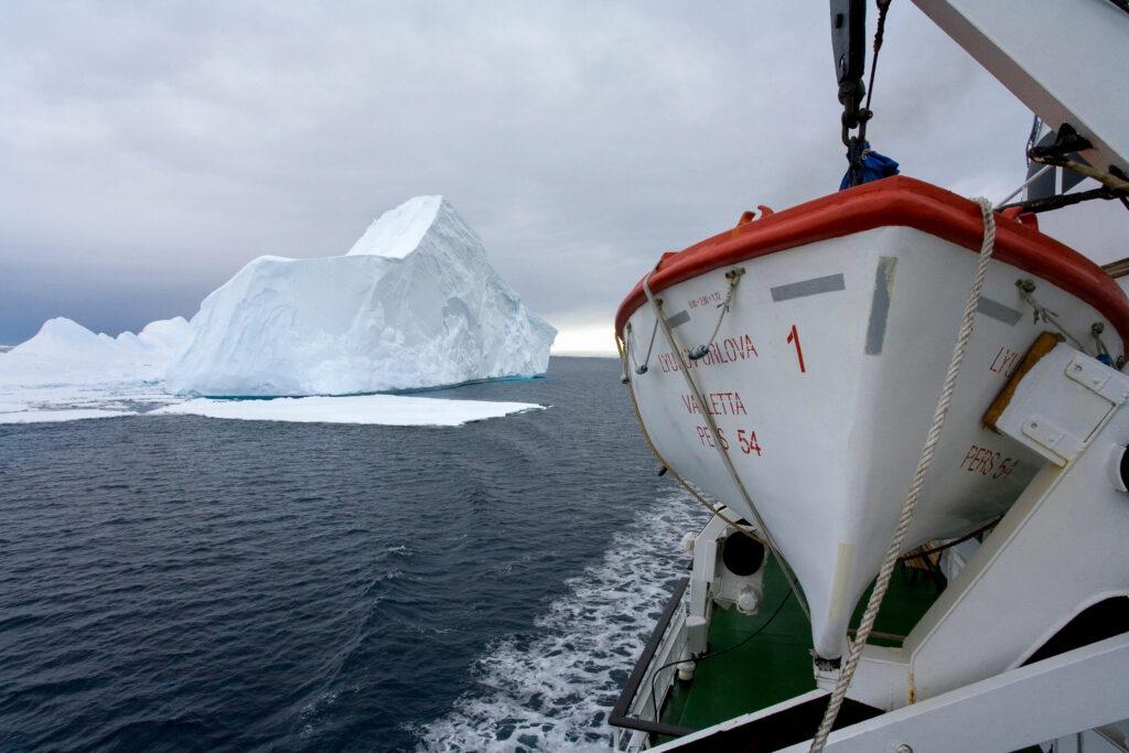Drake Passage. Antarctica.