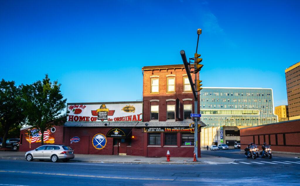 Anchor restaurant and bar in Buffalo, New York.