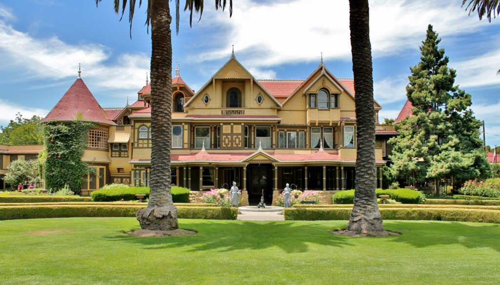 Winchester Mystery House in San Jose California.
