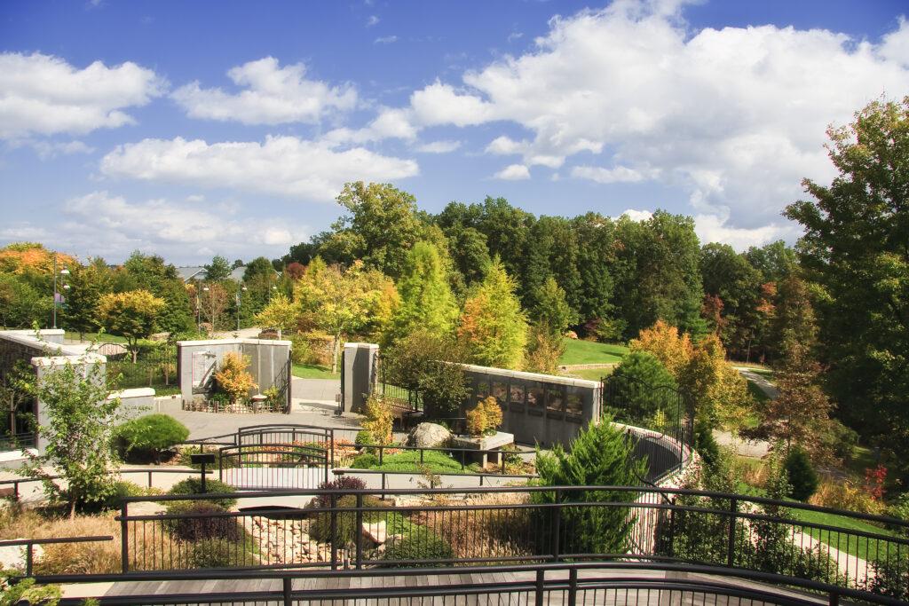 North Carolina Arboretum Garden in Asheville.