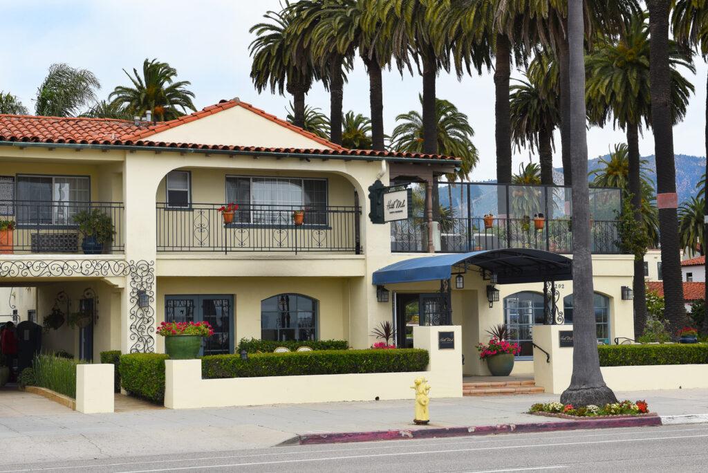 Hotel Milo, on Cabrillo Boulevard.