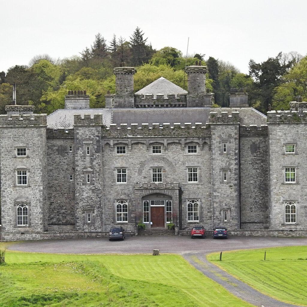 Slane Castle and Distillery. Slane, County Meath, Ireland.