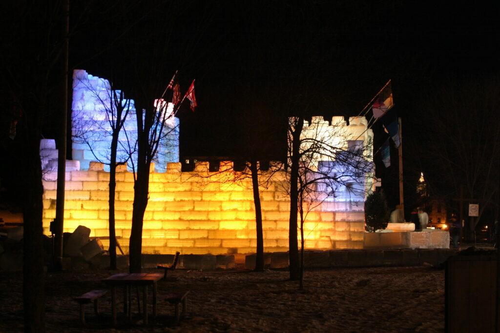 Saranac Lake Winter Carnival.