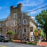 An inn in Middleburg, Virginia.
