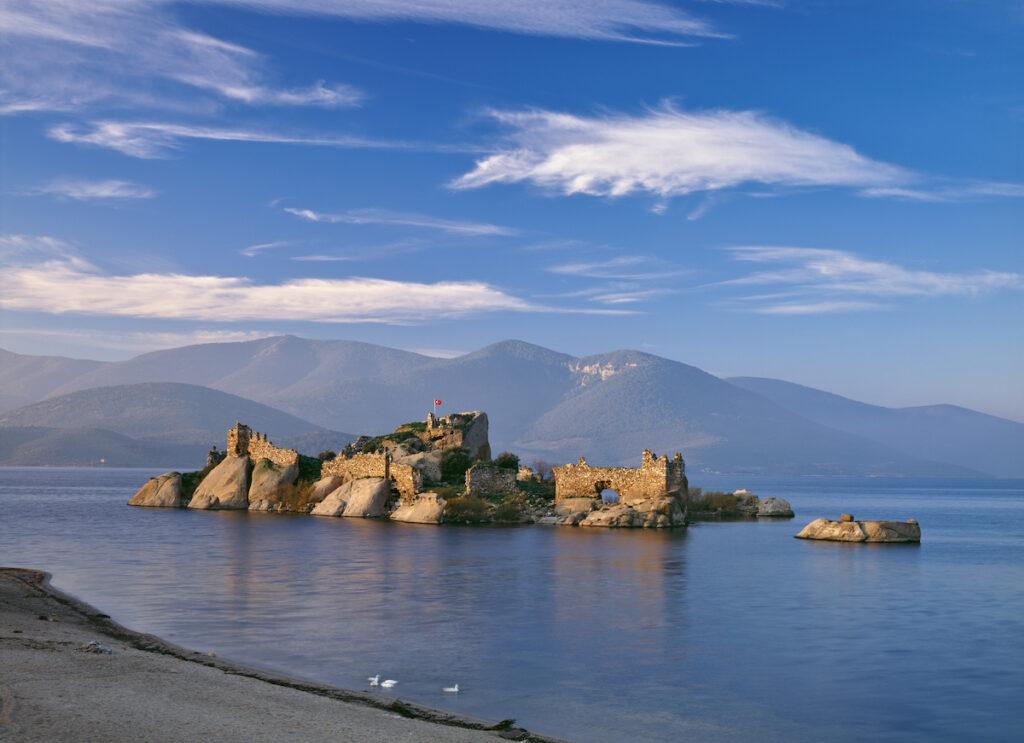 Lake Bafa, Turkey.