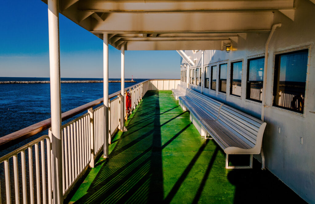 The Cape May-Lewes Ferry.