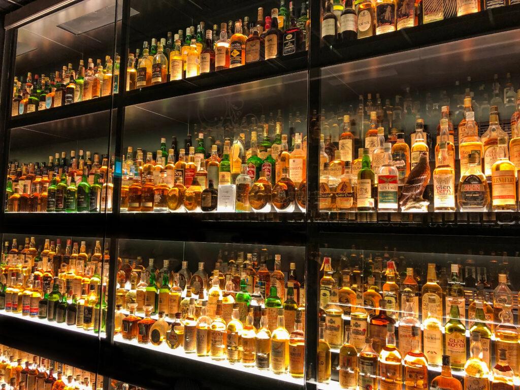The Scotch Whisky Experience in Edinburgh Scotland.